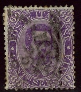 Italy SC#55 Used Fine SCV$45.00...Worth a Close Look!