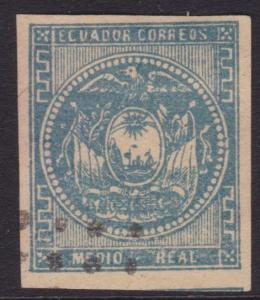ECUADOR An old forgery of a classic stamp...................................5560