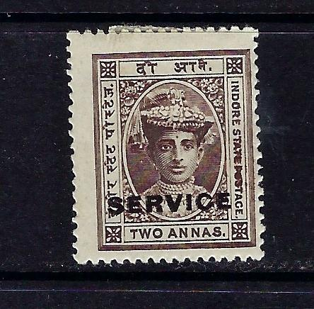 India-Indore O3 MHR 1905 overprint