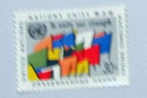UN, NY - 92, MNH Complete. Abstract Flags. SCV - $0.45