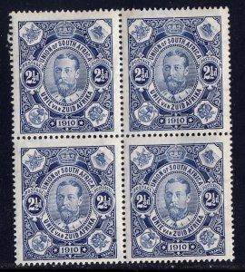 South Africa - Scott #1 - Blk/4 - MH - Dist. gum, unevenness - SCV $12.00
