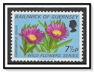 Guernsey #71 Wild Flowers MNH