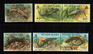 Pitcairn Islands  389 - 394a  MNH  $ 12.50