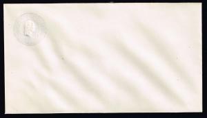 US STAMP BOB #  3c PURPLE Stamped Envelope ERROR