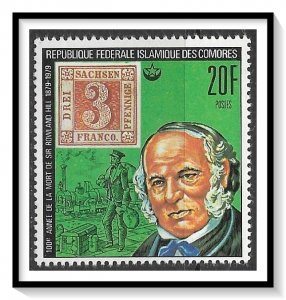 Comoro Islands #393 Sir Rowland Hill MNH