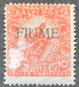 DYNAMITE Stamps: Fiume Scott #B1 – MINT