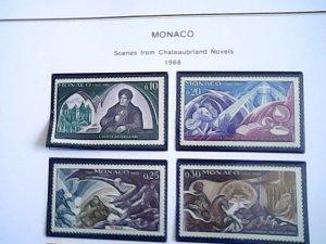 1968  Monaco  MNH  full page auction