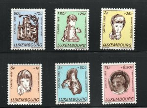 Luxembourg 1968 MNH Stamps Scott B264-269 Disabled Handicapped Children