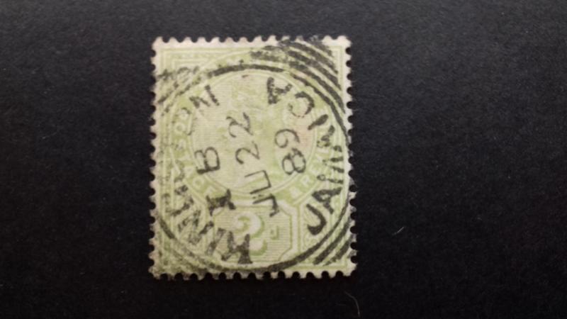 Jamaica 1889 Queen Victoria - New Design Used