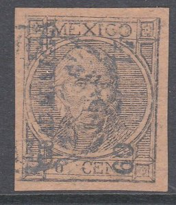 MEXICO  An old forgery of a classic stamp...................................D272