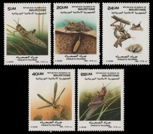 1988 Mauritania 950-954 Insects 11,00 €