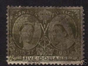 Canada #65 VF Used