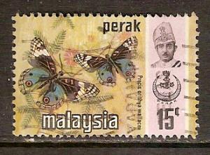 Malaya-Perak   #151  used  (1971)  c.v. $0.35