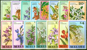 Malawi 1979 Orchids Set of 15 SG577-591 Very Fine MNH