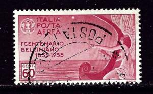 Italy C81 Used 1935 airmail issue