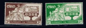 Ireland 99-100 Hinged 1937 Constitution Day