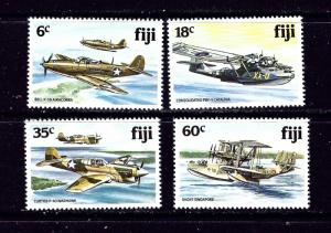 Fiji 454-57 MNH 1981 WWII Aircraft