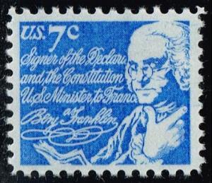 US #1393D Benjamin Franklin; MNH (0.25)