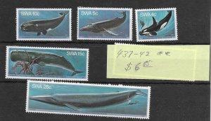 South West Africa #437-442 MNH - Stamp Set - CAT VALUE $6.85