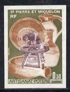 St Pierre & Miquelon 1975 Handicrafts 50c (Potters Wh...