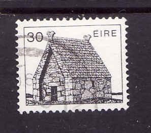 Ireland-Sc#552-used 30p St Mac Dara's Church-1982-90-