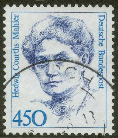 Germany 1992 - Scott # 1735 - Hedwig Courths-Mahler - used