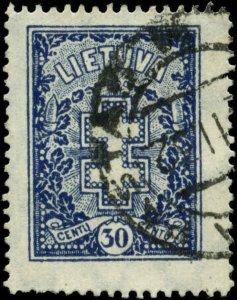 Lithuania Scott #217 Used