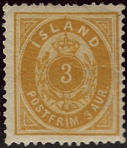 Wonderful Iceland #15 Mint F-VF corner crease SCV$70...fill a fascinating spot!!