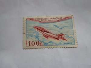 FRANCE STAMP USED FINE CON NO HINGE MARKS # C- 29