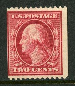 US Scott 349 Washington Coil Perf. 12 VLH  Mint OG