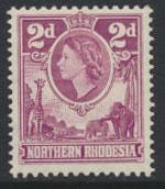 Northern Rhodesia  SG 64  SC# 64 MLH  see detail and scan