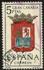 Spain 1963 Scott# 1063 Used