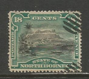 North Borneo    #66  Used  (1894)  c.v. $2.00
