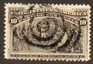 United States  Scott  237  Used