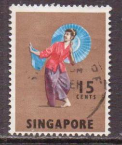 Singapore   #89  Used  (1968)