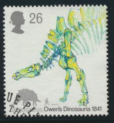 Great Britain  SG 1574 SC# 1388 Used / FU with First Day Cancel - Dinosaurs