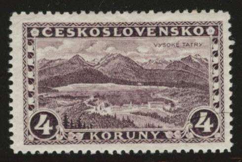 CZECHOSLOVAKIA Scott 139 MH* 1928 no wmk