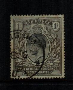 East Africa Uganda  49  used cat $ 5.50