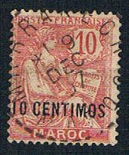 French Morocco 16 Used Surcharge (BP1367)