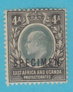 BRITISH EAST AFRICA 6 - SPECIMEN O/P - MINT HINGED OG *  NO FAULTS VERY FINE !