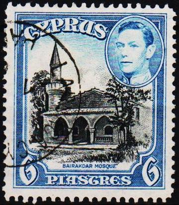 Cyprus. 1938 6pi S.G.158 Fine Used
