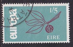 Ireland   #205  used  1965   Europa    1sh5p
