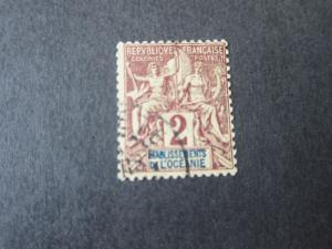French Polynesia 1892 Sc 2 FU