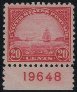 #567 Mint VF LH 80 with PF Cert   (GP2)