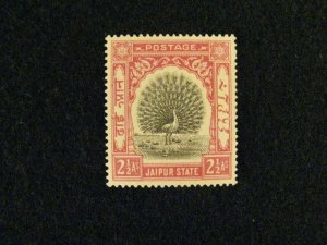 India-Jaipur #28 mint hinged  a209 1195