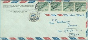 84256 -  CHILE -  POSTAL HISTORY -   AIRMAIL COVER  to ITALY  1963