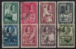 Nigeria #38-45*/u  CV $13.50