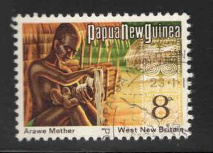 PNG Papua New Guinea Scott 374 Used 1973 stamp