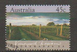 Australia SG 1350 VFU  with First Day cancel