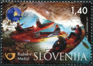 Slovenia. 2017. Tourism - Mežica Mine (MNH OG) Stamp